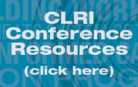 Click Here for CLRI Conference Resources for Building Momentum for Long-Term Care Conference, November 9-10 2015, Fairmont Château Laurier Ottawa Ontario