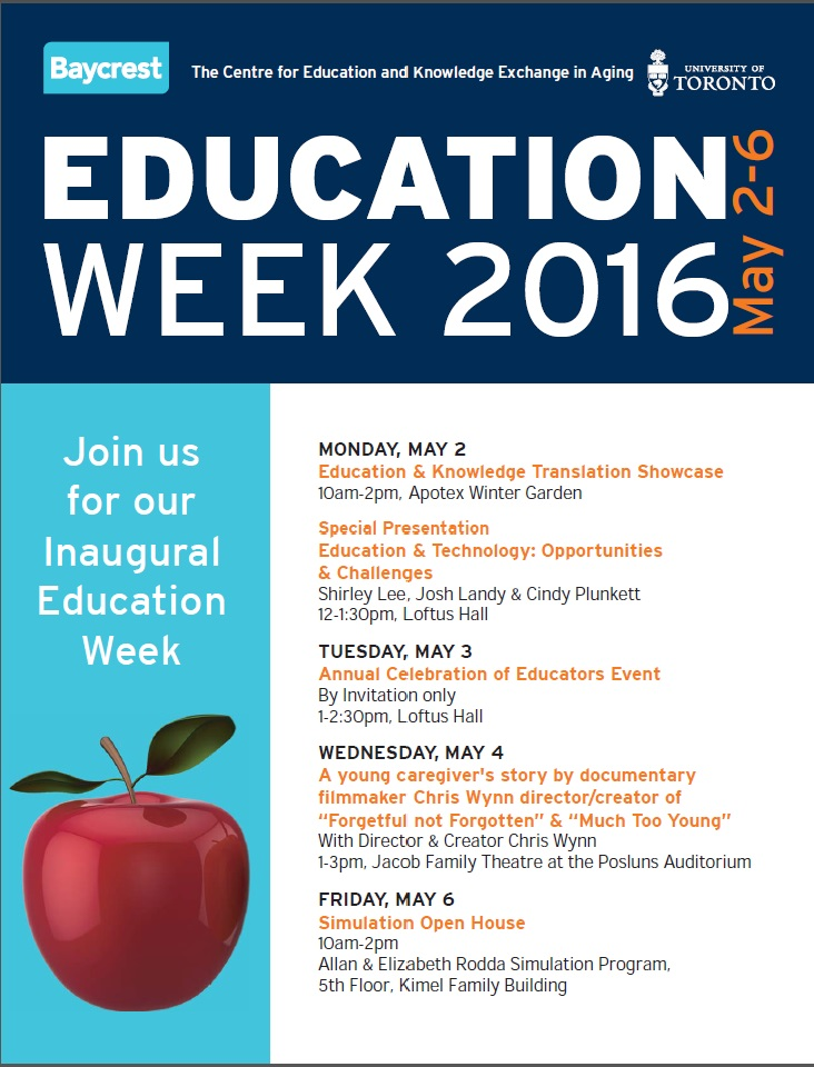 Education Week May 2-6 2016