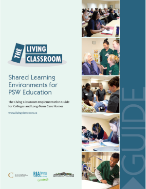 Cover of Living Classroom Implementation Guide