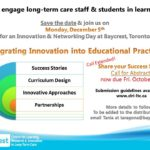 Innovation & Networking Day at Baycrest, Toronto