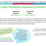 2018 LTC Train-The-Trainer Workshops for Applied Theatre