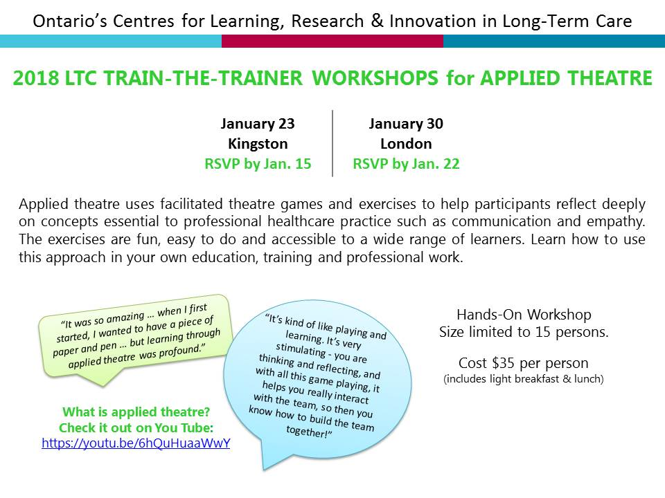 CLRI 2018 Overview of Jan & Feb Train the Trainer Workshop