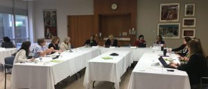 Photo of advisory committee meeting
