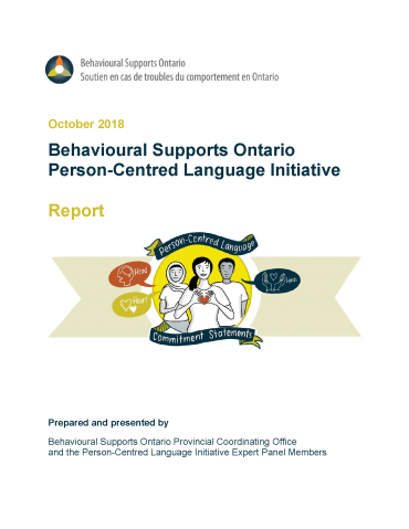 Person-Centred Language Report Cover
